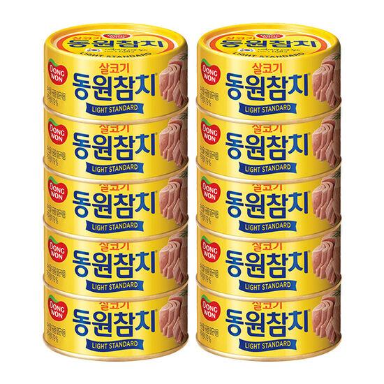 [동원] 라이트스탠다드참치 150g x10캔