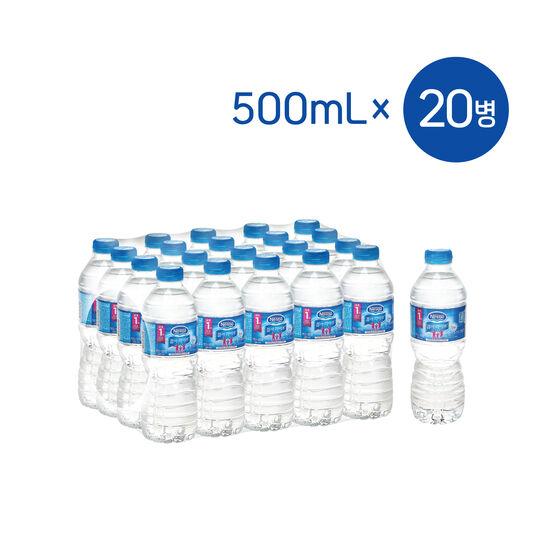 [네슬레(NESTLE)] 퓨어라이프 500mL x 20개/생수