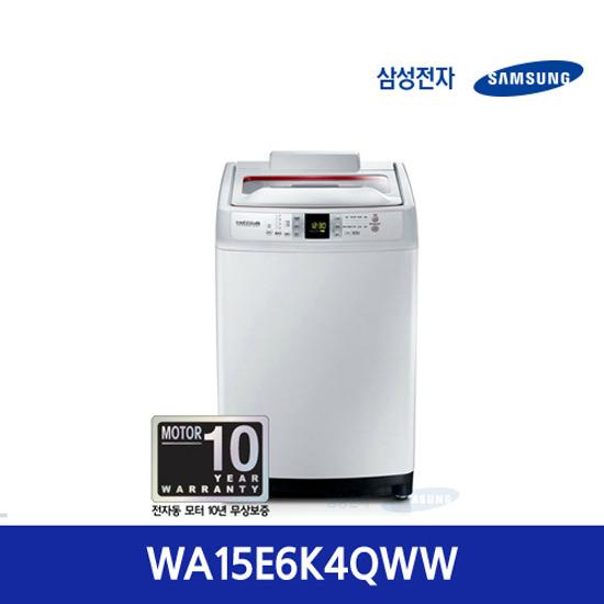 삼성 워블 세탁기WA15E6K4QWW(15kg)