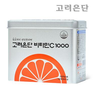 고려은단 비타민C 1000 180정 + 쇼핑백