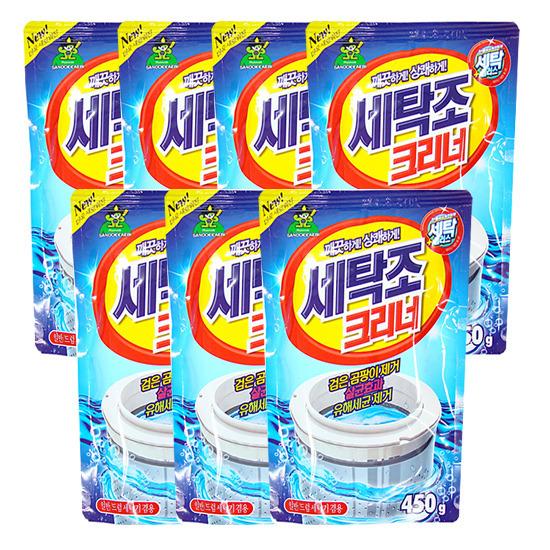 [산도깨비]세탁조크리너 450g×7개