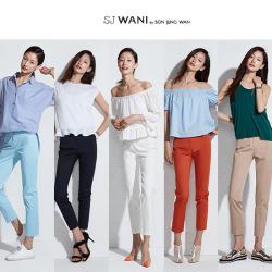 SJ WANI 썸머 사브리나 팬츠