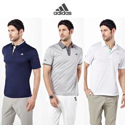남)ADIDAS 골프 adicross 아디모션 쿨라이트셔츠 3종세트