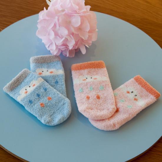 [큐트베이비]구름수면양말 유아 아기