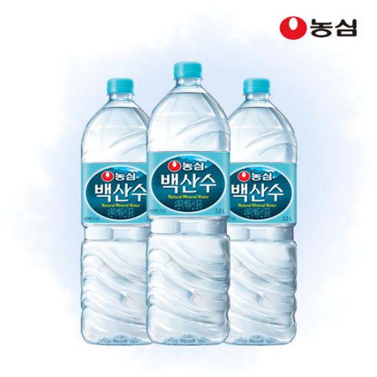 농심 백산수 2L x 12병 무료배송★