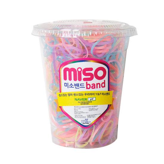 미소밴드 50g 아동머리끈 대용량 머리끈