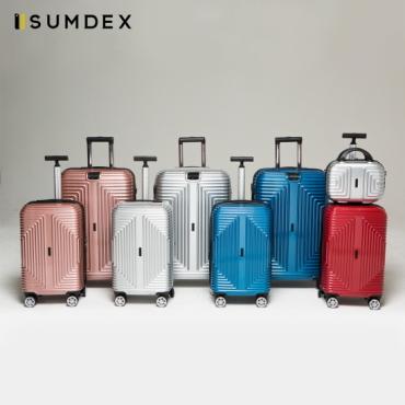[SUMDEX] 썸덱스 모던스퀘어 여행가방 5종세트