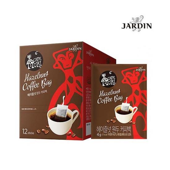 [쟈뎅]까페모리 헤이즐넛 원두 커피백 12p