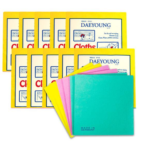 독일산 펄프행주 3매x10팩(30매)/빨아쓰는 주방타올/주방행주