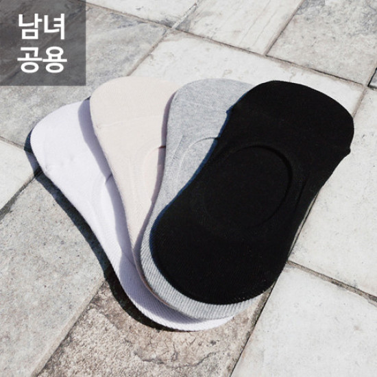 남녀공용 무지 페이크 삭스