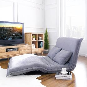 아리아퍼니쳐 Halle-Grey-Queen 2인용소파베드 접이식 침대쇼파