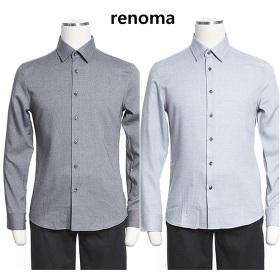 [레노마]F/W 부드러운 고급 수입원단 슬림셔츠 2종택일BC56,57A