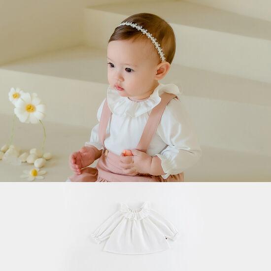 [해피프린스] 셀린 프릴 아기 블라우스