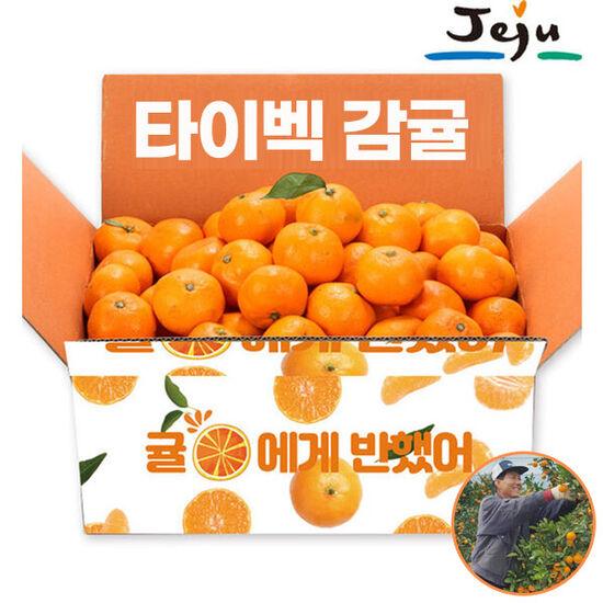 제주직송 햇 노지감귤 3kg 소과 농장출고 과일 제철과일