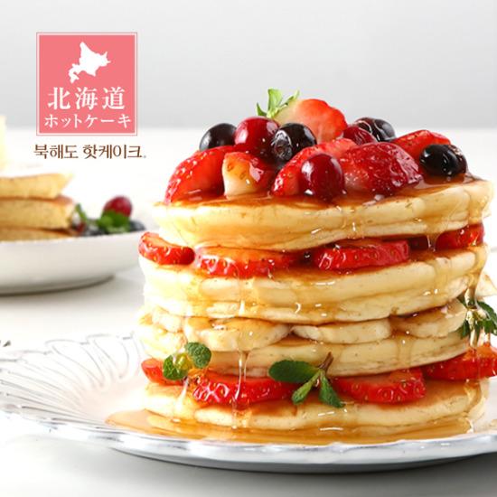 청정지역 북해도에서 만든 촉촉한 핫케익 10장/5팩
