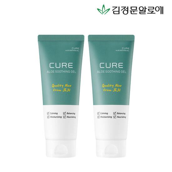 [김정문알로에] 큐어 수딩젤 150ml 2개