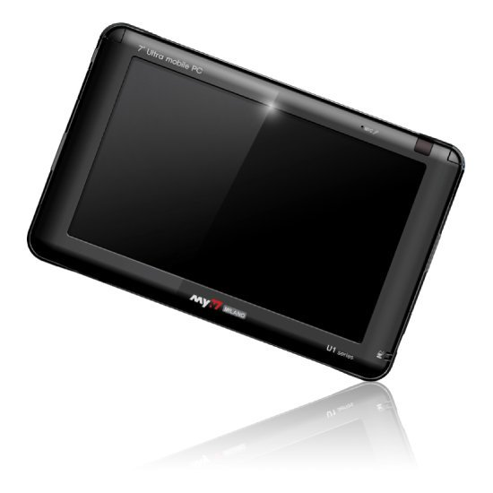 7인치 UMPC U1-V12070W  (VIA C7-M, HDD 30G, 램512MB, WIN XP)