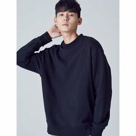 [에잇세컨즈] 블랙 스웨트 셔츠 (458841TY15)