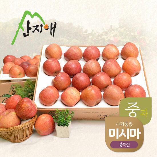 [산지애]알뜰 못난이 사과(중과)4.5kg 2box (32~42과)