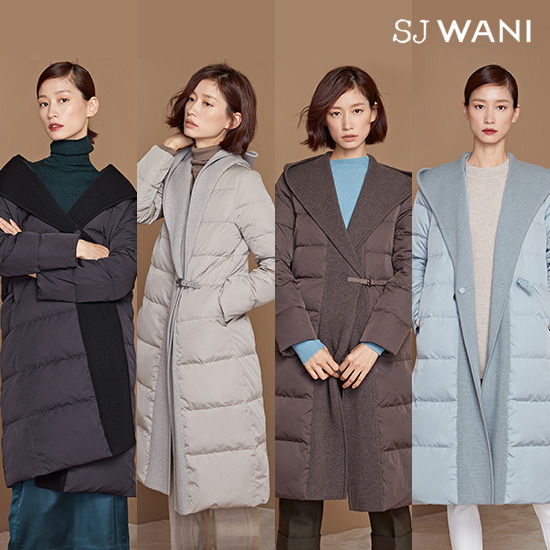 SJ WANI 이태리니트숄 구스다운코트(런칭가 199,000원)