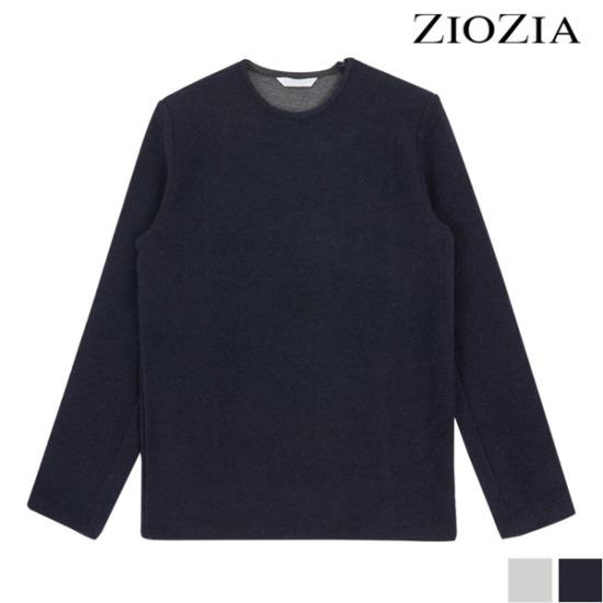 [지오지아] 숄더 지퍼 포인트 부클 티셔츠 (ADW4TR1102)