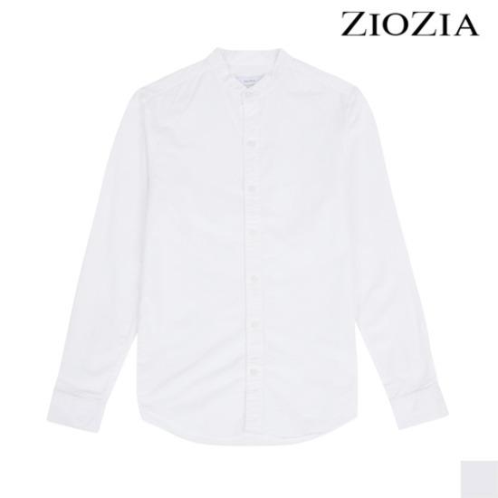[지오지아] 포시즌 헨리넥 화이트 셔츠 (ABW5WC1101)