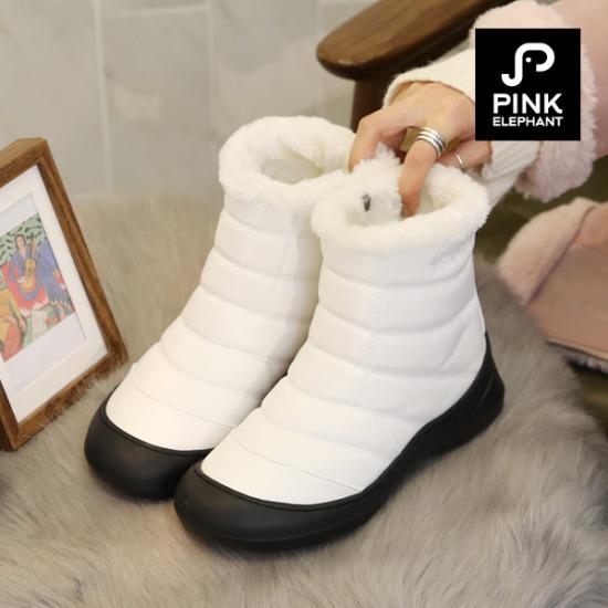 [분홍코끼리]알래스카 털 패딩부츠(2.5cm)