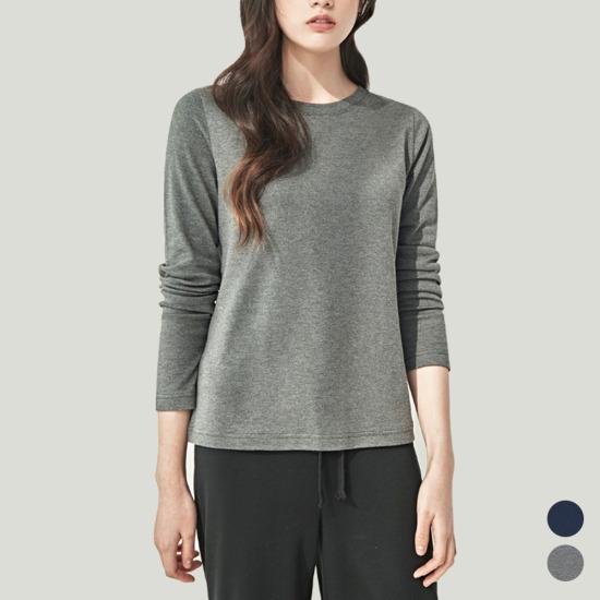 담백한 코튼 모달 라운드넥 티셔츠(MCA4-TS003)