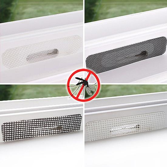 물구멍 방충망(하우홈_10P) 방충망 벌레 먼지차단 창문