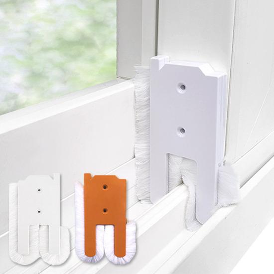 [외풍차단 모헤어 풍지판] 문풍지 틈막이 창문바람막이