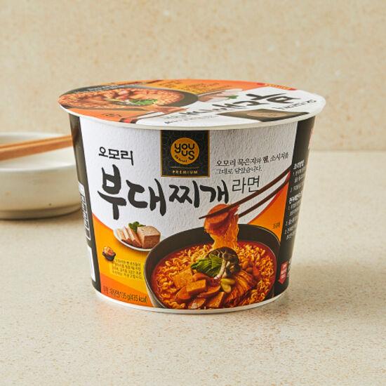 [유어스]오모리 부대찌개 라면(컵) 135g