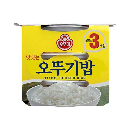 [오뚜기]맛있는 밥 210g x 3입