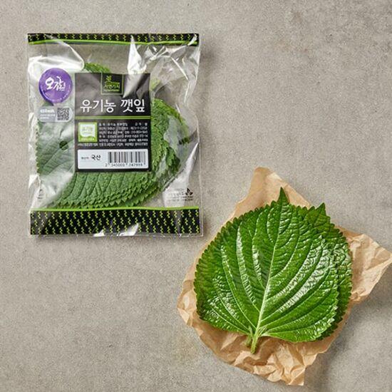 [만인산농협]유기농 추부깻잎(20입 봉)