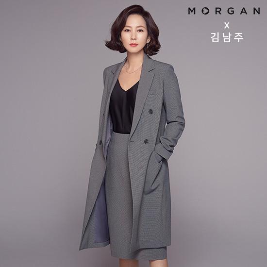 [김남주X모르간] New 수트 컬렉션 4종(롱재킷+재킷+팬츠+스커트)