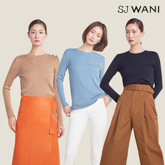 SJ WANI 스프링 실크니트 3종 (런칭가 89,000원)