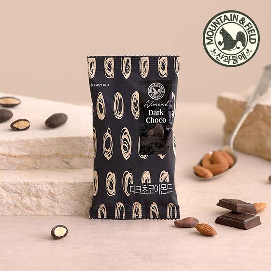 [산과들에] 다크아몬드 초코볼 20봉 (초콜릿견과/간식)
