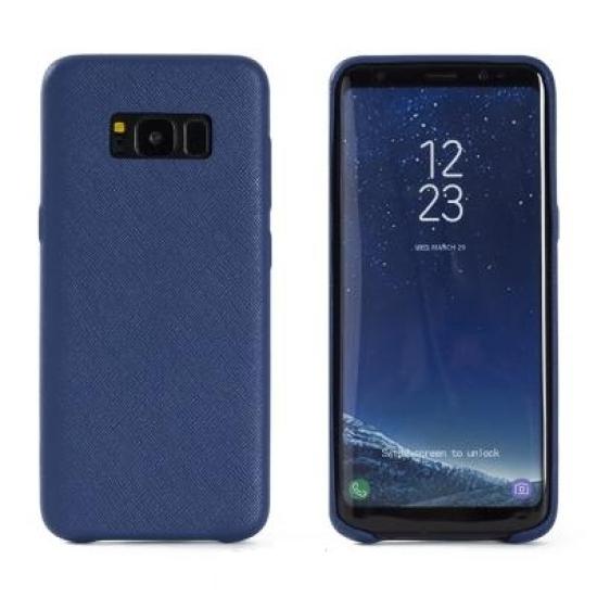 아트박스/매니퀸 사피아노 스마트폰 케이스 갤럭시S8PLUS 로열블루
