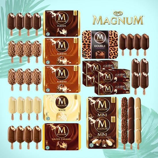 [매그넘] 아이스크림 총 40개
