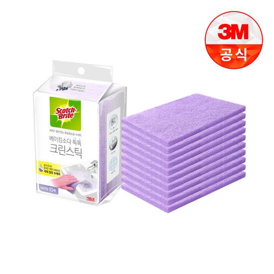 [3M]욕실청소 시트타입 크린스틱 10입