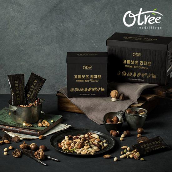 [오트리] 고메넛츠 리저브 100봉(봉당 30g)+쇼핑백 2장