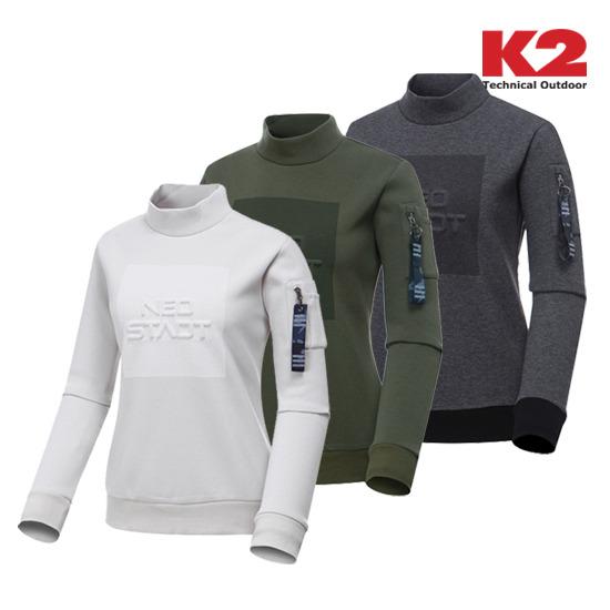 K2 여성 맨투맨 티셔츠 (KWW16266)