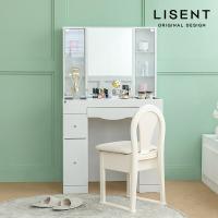 [리센트]샌시화장대 콘솔 보석함 액세서리수납함 거울