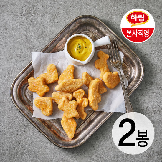 하림 굿초이스치킨너겟 2kg+ 굿초이스팝콘치킨1kg