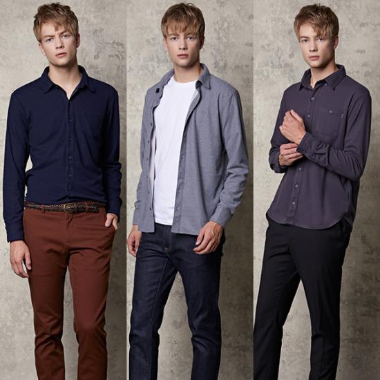 남성 써모라이트셔츠 3종세트