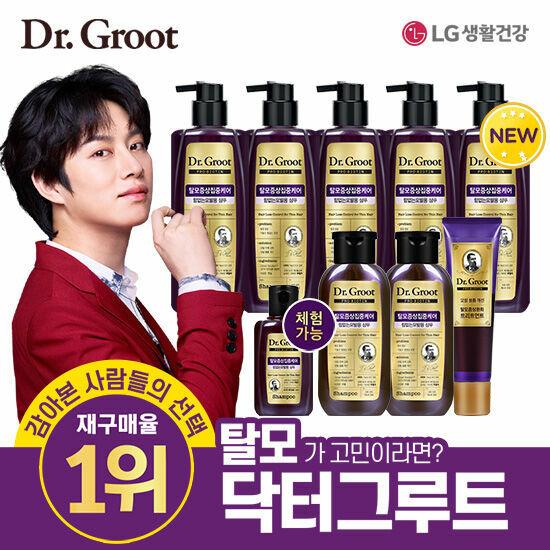 [닥터그루트] 재구매율 1위 김희철 탈모샴푸 기본세트