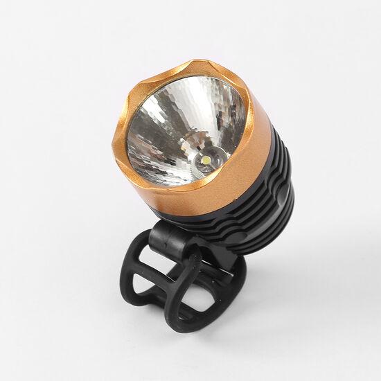 [굿라이딩]LED 자전거 전조등(골드) / 자전거라이트