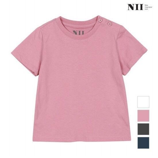 [NII] 아동 솔리드 반팔 티셔츠_2NNKARUM2111