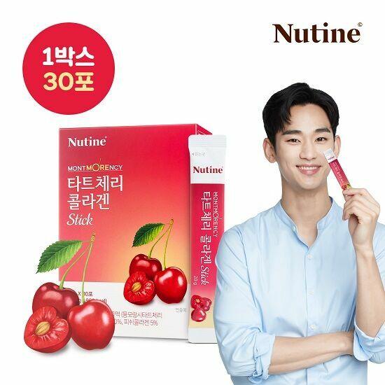 [뉴틴] 김수현 몽모랑시 타트체리 콜라겐 스틱 젤리 1박스(30포)