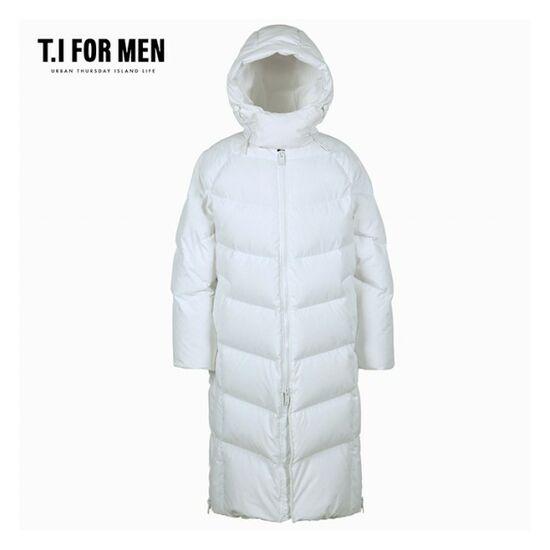 [][티아이포맨](T.I FOR MEN) 구스 롱 다운점퍼(M188MJP594M)_B9C2